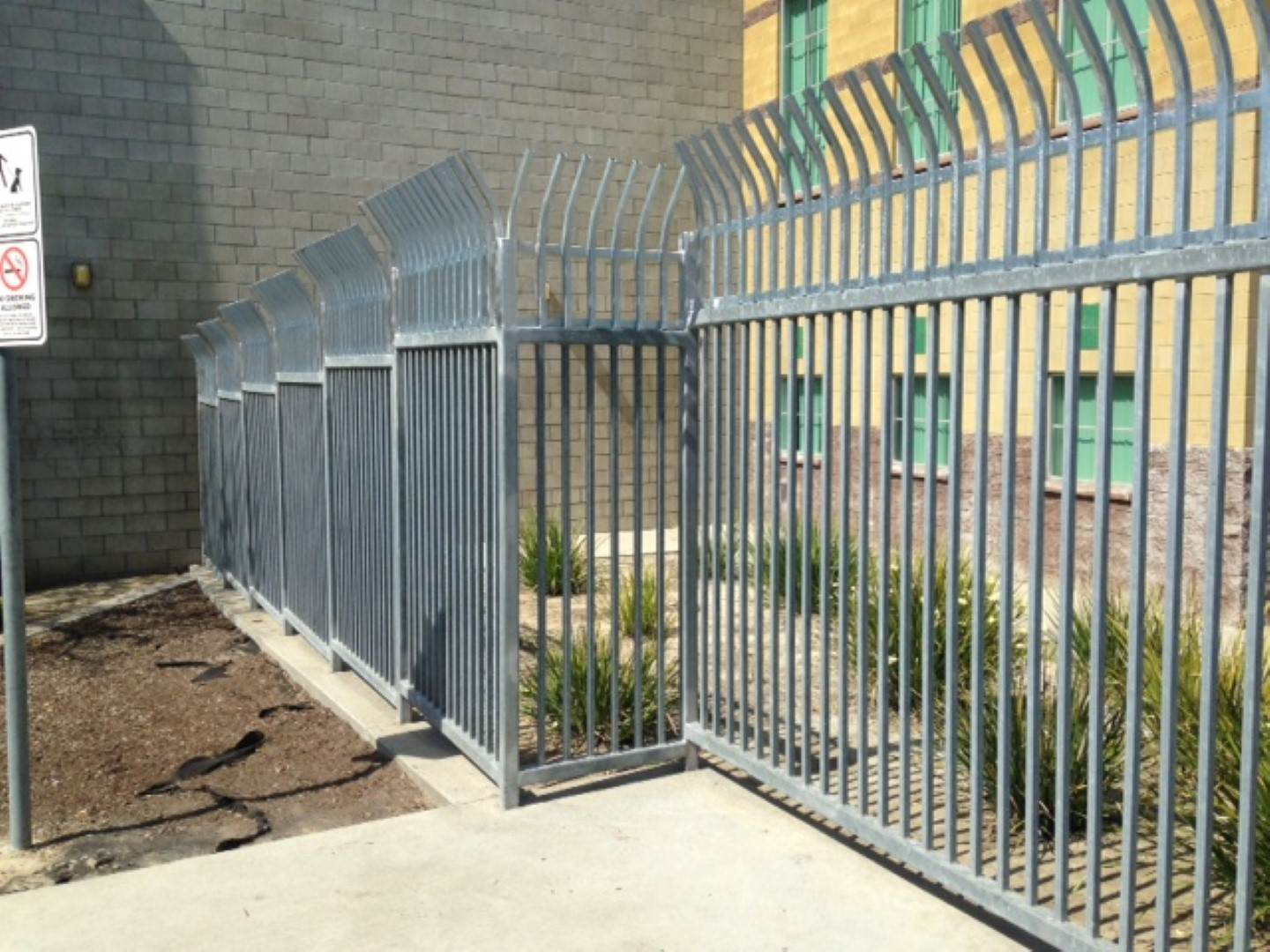 San Diego Fence Company Commercial Sports