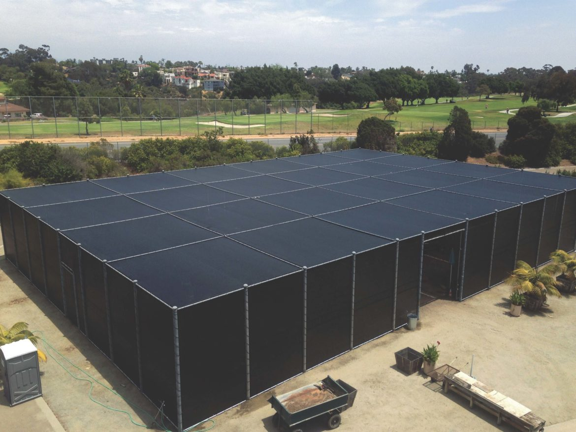 Nursery Shade Structure South Bay Fence Co